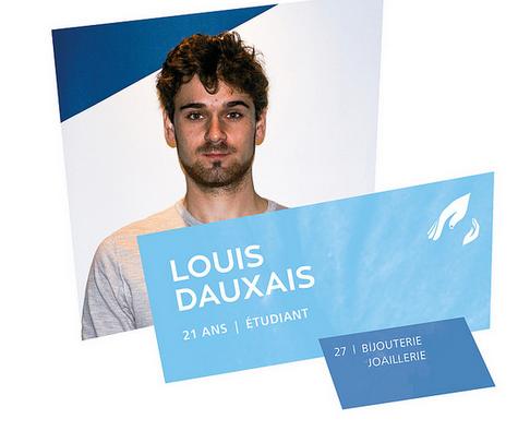 d9ffca05714ed5 Louis Dauxais, Champion de France des 45e Olympiades des Métiers ...
